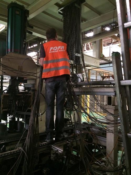 demontáž kabelů